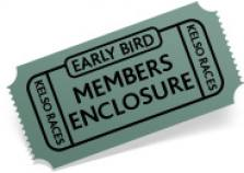 EARLY BIRD Members Admission 28.05.17 (ladies day)